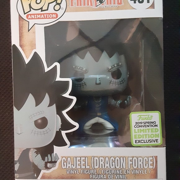 Funko Other - Gamestop Convention Gajeel Dragon Scales Pop